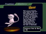 Mew Trophy