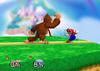 Donkey Kong Neutral attack SSB