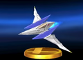 Arwing trophy.png