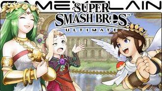 Super Smash Bros. Ultimate All Palutena's Guidance Secret Conversations (Easter Egg)
