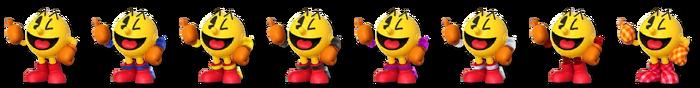 Pac-Man Palette (SSB4)