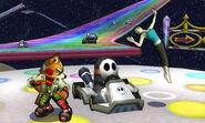 Fox & Wii Fit Trainer SSB4