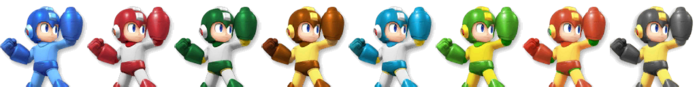 Mega Man Palette (SSB4)