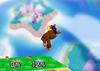 Donkey Kong Up aerial SSB