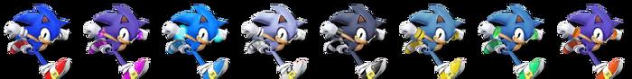 Sonic Palette (SSB4)