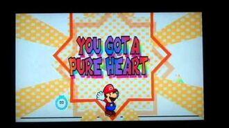 Super Paper Mario Mr L, Brobot L Type Boss Battle