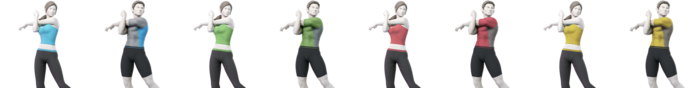 Wii Fit Trainer Palette (SSBU)-0