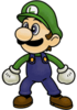 Luigi - Super Smash Bros