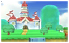 3D Land Icon SSB3DS
