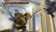 Link Congratulations Screen All-Star Brawl