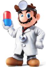 Dr. Mario - Super Smash Bros. for Nintendo 3DS and Wii U