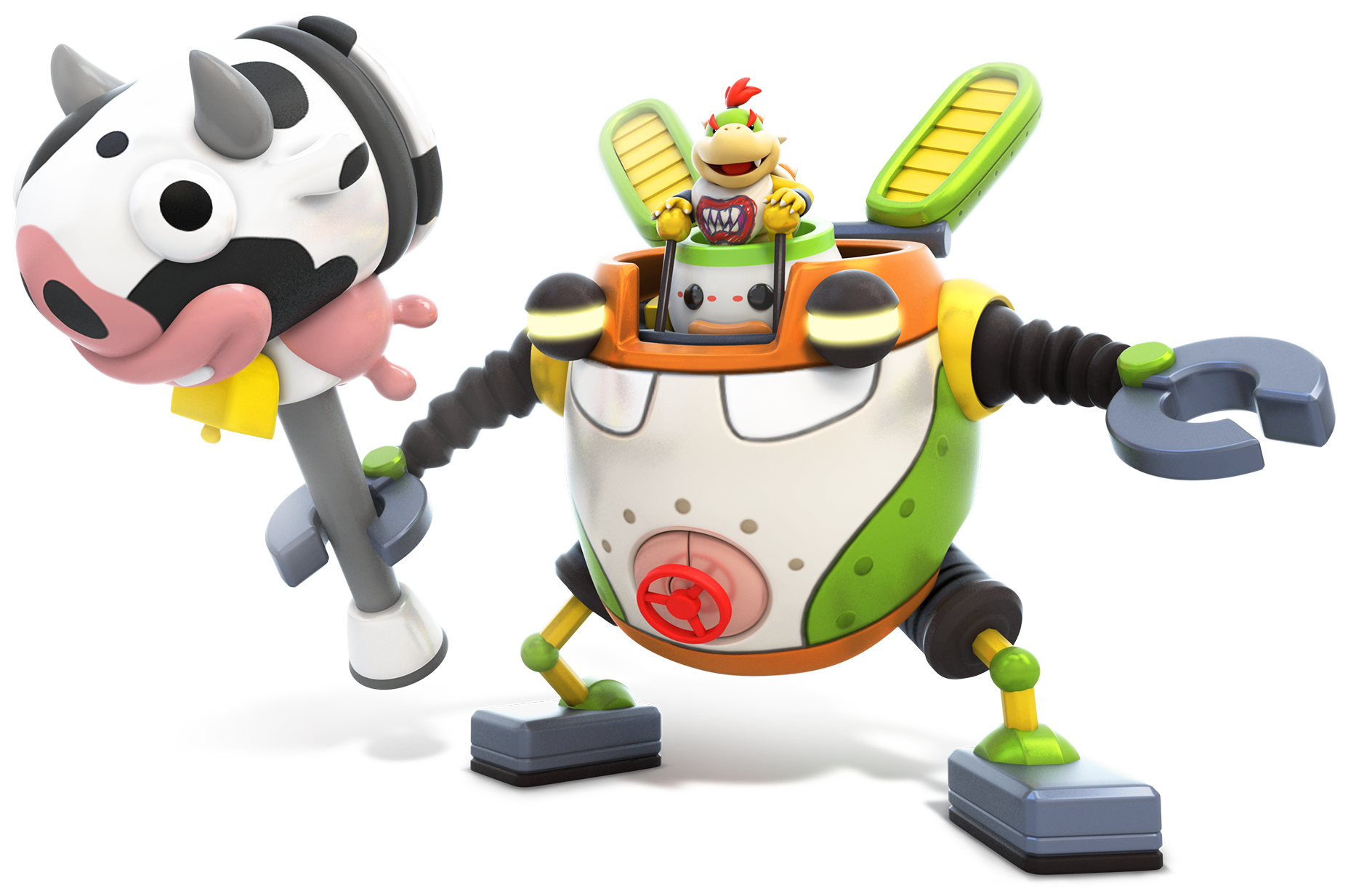 Mecha-Junior-Mario Rabbids-Kingdom-Battle