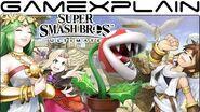 Piranha Plant's Palutena's Guidance Secret in Super Smash Bros