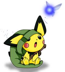 Link Pichu with Navi