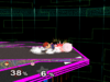 Ness Floor attack (back) SSBM