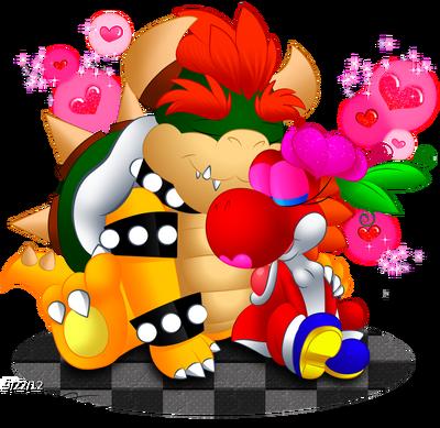 Yoshi bowser love