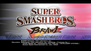 Brawl Title Screen
