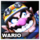 Wario Icon SSB3DS