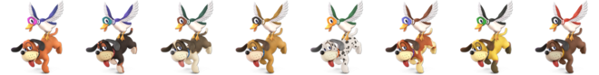 Duck Hunt Palette (SSBU)