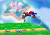 Captain Falcon Back aerial SSB