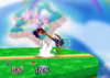 Captain Falcon Back throw SSB