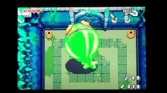 The Legend of Zelda the Minish Cap Giant Green ChuChu Boss Battle ( No Damage )