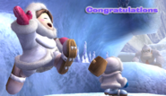 Ice Climbers Congratulations Screen All-Star Brawl