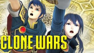 Clone Wars Marth VS. Lucina (The Differences)