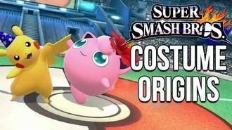 Super Smash Bros. Costume Origins - Pokemon Series