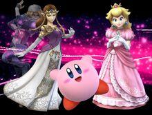 .028 Kirby Zelda Sheik Peach & Zachary
