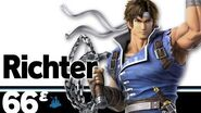 66ᵋ Richter – Super Smash Bros