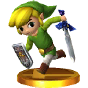 SSB3DS Toon Link Trophy1