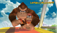 Diddy Kong Congratulations Screen All-Star Brawl