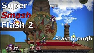 Super Smash Flash 2 (Playthrough) Mugen-Like