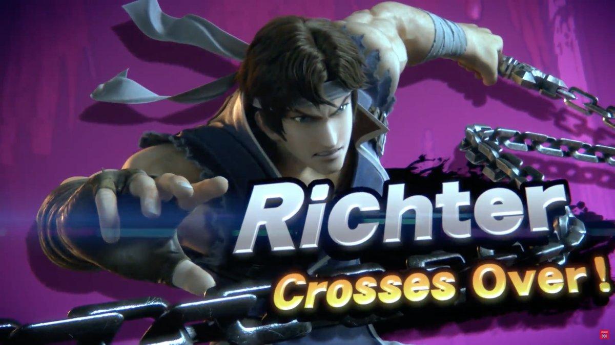 Richter Ssbu Smashpedia Fandom Powered By Wikia