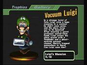 Vacuum Luigi Scared