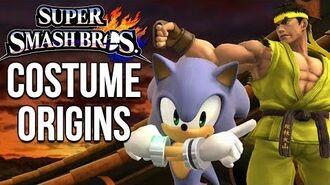 Super Smash Bros. Costume Origins - Third Party Fighters
