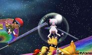 Mew in super smash bros 3ds