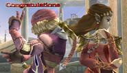 Zelda Sheik Congratulations Screen All-Star Brawl