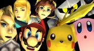 .028 Kirby Pikachu Mario Link Samus Pit Meta Knight & Zachary