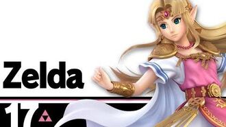17 Zelda – Super Smash Bros