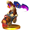 Donkey Kong + Barrel Train
