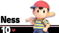 10 Ness – Super Smash Bros