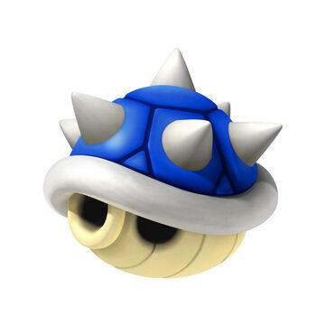 Art del Caparazón de Pinchos en Mario Kart 8