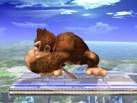 Ataque de recuperación Donkey Kong SSBB (1)