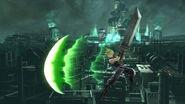 Haz espada en el aire Cloud SSB4 (Wii U)