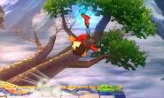 Karateka Mii Patada hacha SSB4 (3DS) (1)