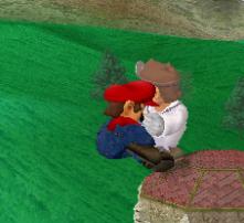 Lanzamiento delantero de Dr. Mario (1) SSBM