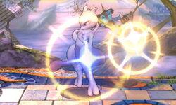 Lanzamiento hacia arriba Mewtwo (1) SSB4 (3DS)