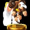 Trofeo de Diddy Kong (alt.) SSB4 (Wii U)